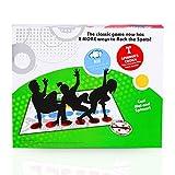 LIULIUKEJI Jeux de Société, Twister, Jeu de Twister pour Exercer Equilibre et Flexibilité, Jeu de Societe pour Rapprocher, Jeux de Fête Jeu Twister pour Familles/Enfants/Adults