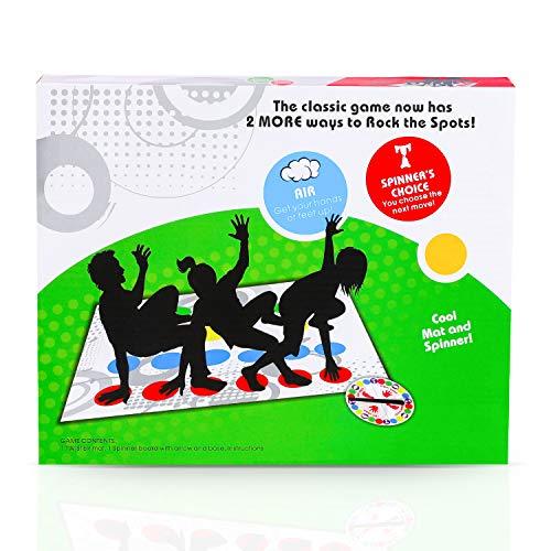 LIULIUKEJI Brettspiele, Twister, Twister-Spiel, um Gleichgewicht und Flexibilität zu trainieren, Brettspiel zum Zusammenbringen, Party-Spiele Twister-Spiel für Familien / Kinder / Erwachsene