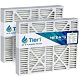 Tier1 20x25x5 Merv 13 Replacement for Trion/Air Bear 259112-102 & 255649-102 Air Filter 2 Pack
