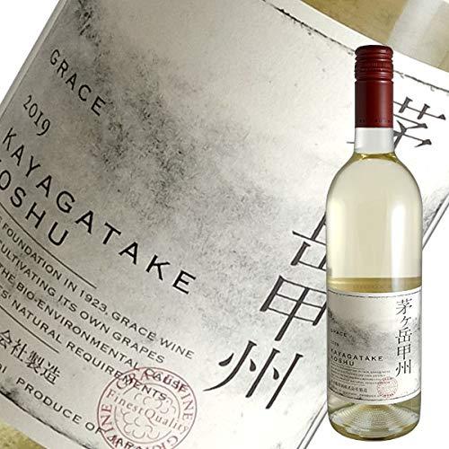 中央葡萄酒『茅ヶ岳甲州 VINTAGE 2019』