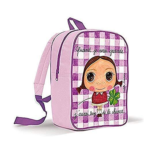 Petit sac à dos 'quand je serai grande, j'aurai trop...