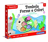 Clementoni - 16170 - Sapientino - Tombola Forme e Colori, gioco educativo 2 anni - tombola bambini con tessere a incastro - gioco per imparare forme e colori - Made in Italy