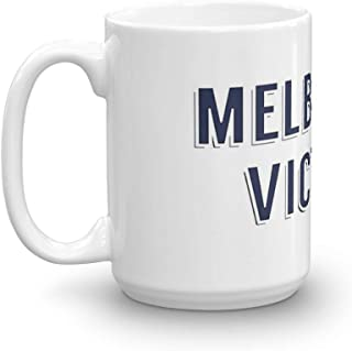 Melbourne Victory Mug 15 Oz White Ceramic