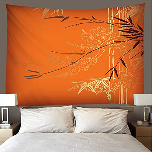 binghongcha Bamboo Tapestry 130X150Cm Mandala Tapestries Yoga Mat Beach Towel Blanket,Picnic Beach Sheet, Table Cloth, Boho,Decorative Wall Hanging A3269