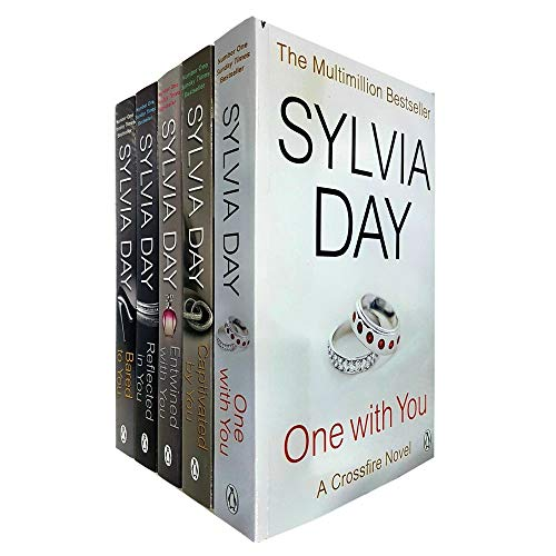 Sylvia Day Crossfire Series Collection 5 Books Collection Set (Entwined With You, Reflected in You, Bared to You, Captivated by You and One with You)