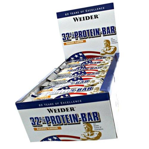 Weider 32% Protein Riegel 60g Vanille 10er Pack 10x 60g, Vanille