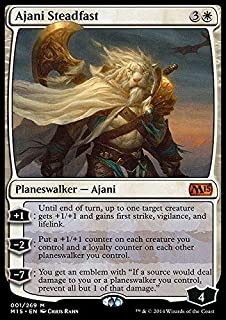 Magic: the Gathering - Ajani Steadfast (001/269) - Magic 2015 - Foil
