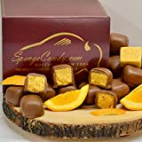 Chocolate Sponge (4 flavors available) Candy from the Sponge Candy Capital of the World, Buffalo New York! (Orange Chocolate)