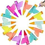 Fabur 14 Piezas Soporte de Lápiz Corrector de escritura para Niños Adecuado de Lápiz Herramienta Ayuda Escribir para Niños/Adultos