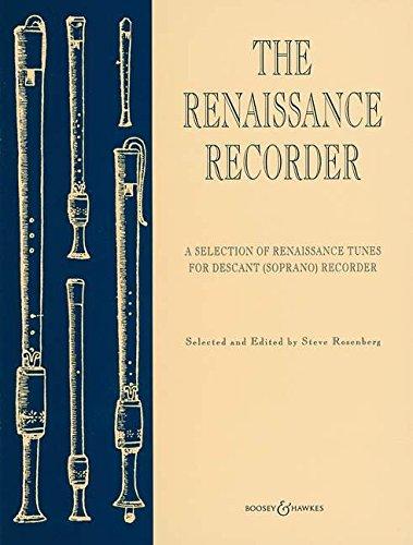 The Renaissance Recorder: A Selection of Renaissance Tunes. Sopran-Blockflöte und Klavier.