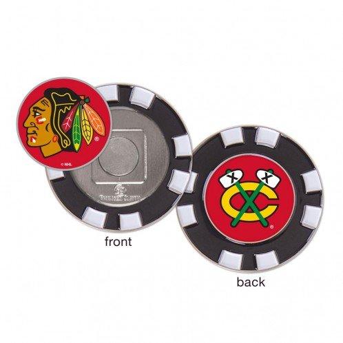 Wincraft Chicago Blackhawks Poker Chip Golf Ball Marker