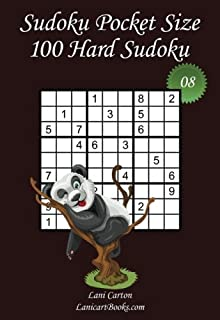 "Sudoku Pocket Size - Hard Level - N°8: 100 Hard Sudoku Puzzles – to take everywhere – Pocket Size (4""x6"") (Volume 8)"