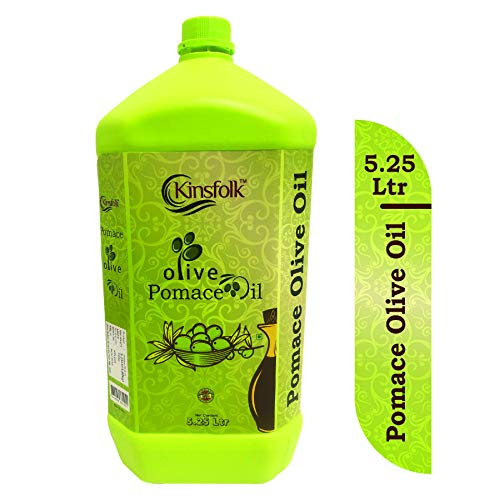 Kinsfolk Pomace Olive Oil (( Imported Oil from Spain )) JAR - 5.25 LTR