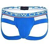 Andrew Christian Hombre Jockstrap Show-IT Sports Mesh Jock 91351, Azul XL