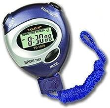 Rokcy Pocket Alarm Timer for Sports, Study, Exam Black Dial Digital Girl's Stop Watch (Grey)