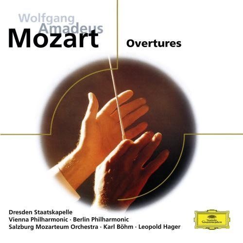 Mozart: Overtures by Mozarteum-Orchester Salzburg [Orchestra], Leopold Hager [Conductor], Berliner Ph (2010) Audio CD
