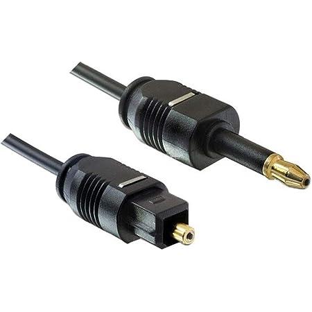 Premiumcord Optisches Audiokabel Mini Toslink 3 5mm Auf Computer Zubehör