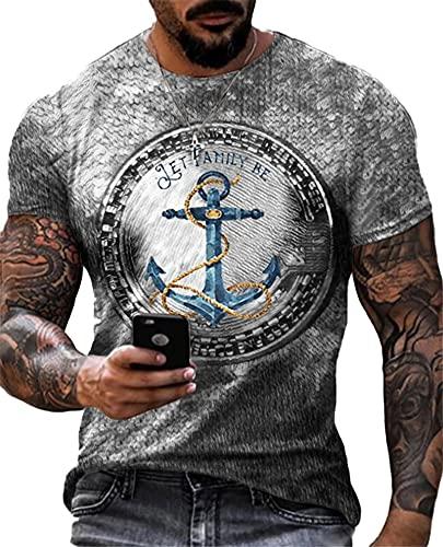 SSBZYES Camiseta para Hombre Camiseta De Verano De Manga Corta De Talla Grande Camiseta De Cuello Redondo para Hombre Camiseta para Hombre Camiseta De Fondo Fino Camiseta Deportiva con Estampado