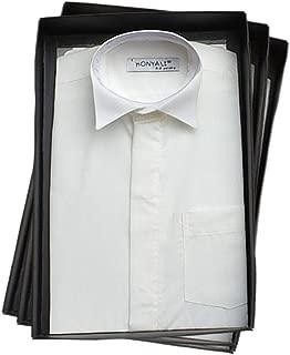 chemises enfants Page Garçon Mariage Garçons Blanc et Ivoire Col Classique Formel
