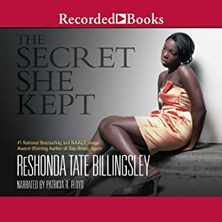 The Secret She Kept audiobook cover art