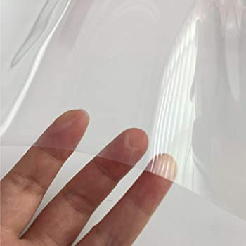 0 5mm Clear Thin Petg Plastic Sheet 7 Sizes To Choose Model Making Dolls House Windows 420mm X 297mm A3 Amazon Co Uk Kitchen Home