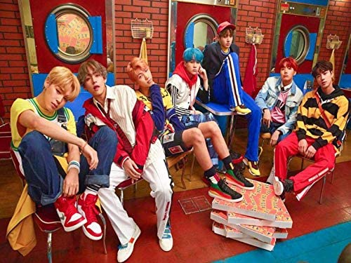 Credence Collections BTS Bangtan Boys Crew Popular Korean Singers HD Poster 12 x 16 product image
