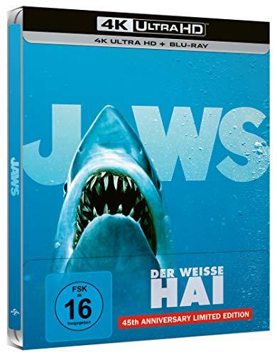 Der weiße Hai - 4K UHD - Steelbook [Blu-ray]