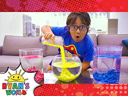 Ryan Plays with Hydrophobic Sand!