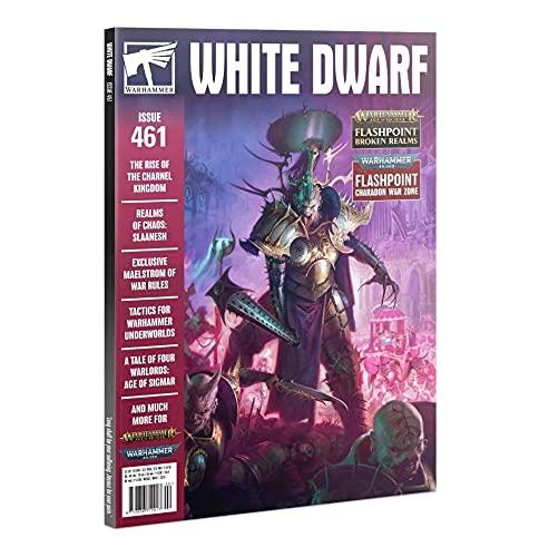 Games Workshop Warhammer White Enano Número 461