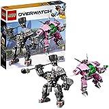 LEGO Overwatch D.Va and Reinhardt 75973 Mech...