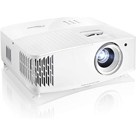 Optoma UHD35 True 4K UHD Next Generation Gaming Projector | 3600 Lumens | 4.2ms Response Time at 1080p with Enhanced Gaming Mode | Lowest Input Lag on 4K Projector | 240Hz Refresh Rate | HDR10 & HLG