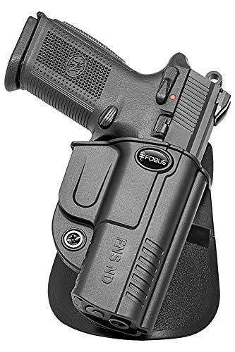 Fobus FNSND FN FNS 9, FNS 9 Compact FNS 40, FNS 40 Compact Fobus Evolution Paddle Holster, Black