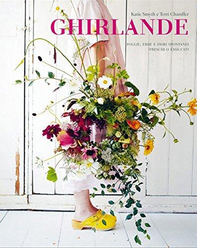 Ghirlande. Foglie, erbe e fiori spontanei freschi o essiccati