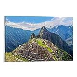 HGFDJ Peru Antike Stadt Machu Picchu Berge 2 Peru Antike