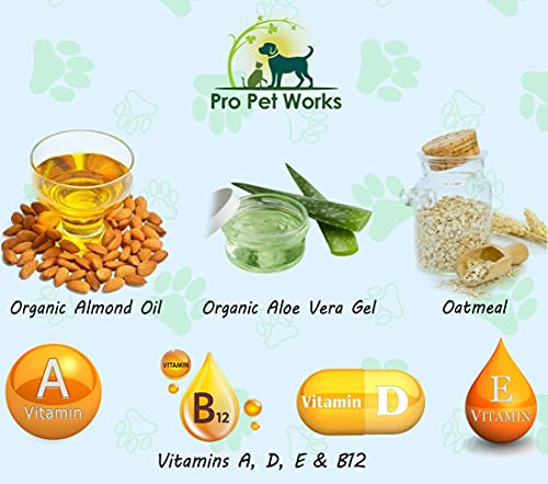 Product Image 4: Pro Pet Works Natural Organic 5 in One Oatmeal Pet Shampoo + Conditioner