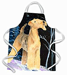 airedale terrier apron