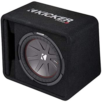 KICKER 12 Inch 1000 Watt 2-Ohm Ported Vented Subwoofer Enclosure Box | 43VCWR122