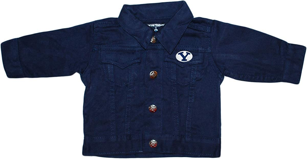 Creative Knitwear Brigham Young Denim Dealing full Chicago Mall price reduction BYU Jacket University