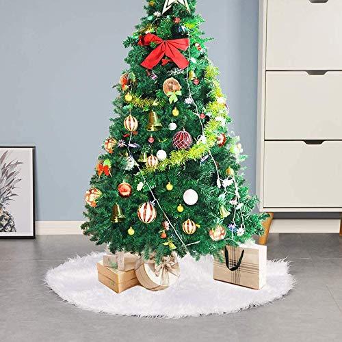 Decke Weihnachten Deko,Christmas Tree Skirt,Christbaumständer Teppich,Christmas Tree Rock,Weihnachten Baum Rock,Weihnachtsdekoration,Weihnachten Baumrock,Weihnachtsbaum Rock,weihnachtsschmuck (122cm)