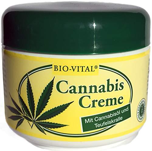 3 Dosen a 125 ml Cannabis Creme mit Cannabisöl Teufelskralle Alpenkräuter Körper Rücken Balsam Hanföl Made in Germany