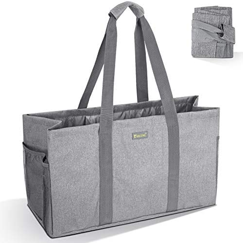 BALEINE Reusable Soft Utility Tote with Reinforced Handles Eco Friendly Collapsible Foldable product image