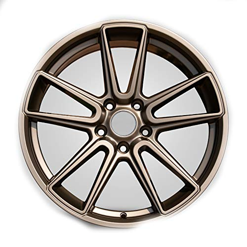 GYZD Llantas de aleación Rueda forjada de Flujo de 18 Pulgadas,máquina para Ruedas de Coche, llanta de Aluminio para neumáticos R18*8J, Adecuada para Golf Camry Atez cx-4 Civic Accord PC 1,V