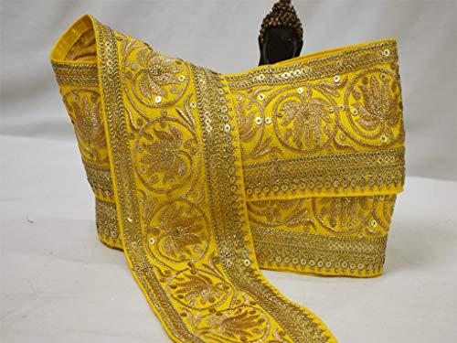 Venta al por mayor Boutique metarial indio decorativo encaje hermoso vestidos bordes...