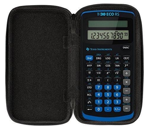 Original CalcCase Schutztasche für Taschenrechner Texas Instruments TI-30 ECO RS