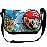 Super Mario Cross body Bag Pocketbooks bolsos bolso ligero del hombro para las mujeres y los hombres bolsa casual de viaje