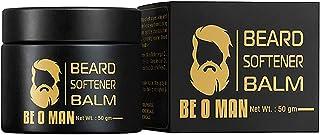 Beoman Beard Softener Balm for Grooming Men's Facial Hair with Grape seed oil, Bees wax, Shea butter, Argan oil, Vitamin E...