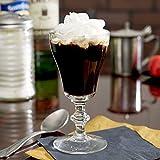 SET of 4, Libbey 8054 6 oz. Georgian Irish Coffee Glass w/Signature Party Picks