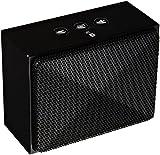 Amazon Basics - Minialtavoz portátil con Bluetooth - Negro
