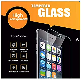 Screen Protector 9H for Apple iPhone 6, 6+, 6s, 6s+, 7, 7+, 8, 8+ X XS XR (3Pack). HD .25D.3mm Thin. Anti Shatter Glass. [...