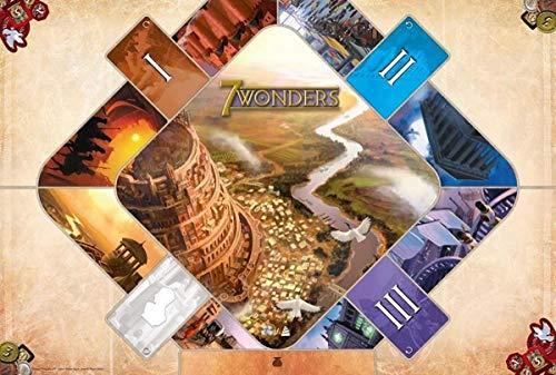 Asmodee - Juego de Mesa - 7 Wonders (Idioma español no garantizado)